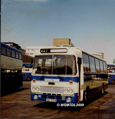 MPE398 B  RMS 398W  Leyland Leopard  Alexander AT. Buchanan Bus Station GLASGOW