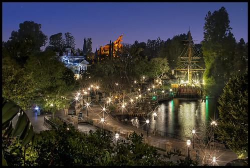 Blues Hour on the River Front - Tarzan's Treehouse, Disneyland