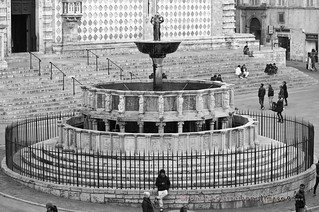 Image of Fontana Maggiore near Perugia.