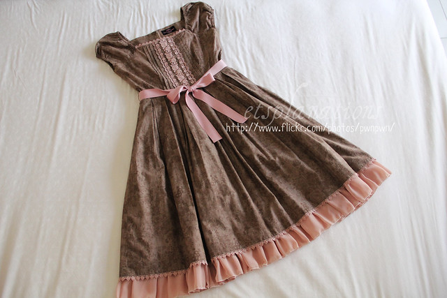 IW Porcelain Ribbon dress