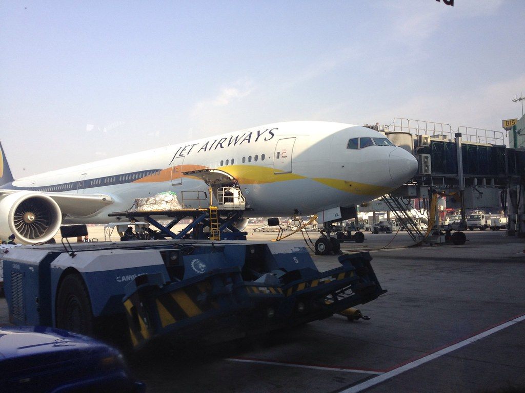 Jet Airways' VT-JEL: Boeing 777-300ER