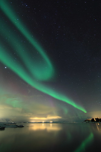 Northern lights by olgeir