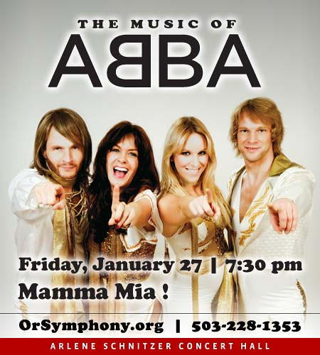 Music of Abba @ Oregon Symphony