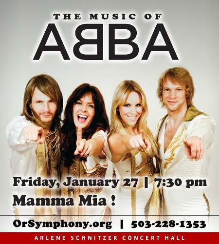 Music of Abba @ Oregon Symphony