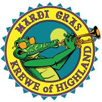 Krewe of Highland logo by trudeau