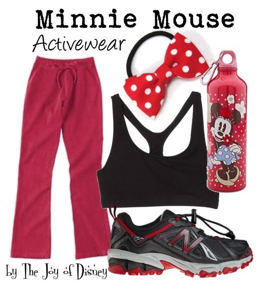 Inspired by: Minnie Mouse Activewear