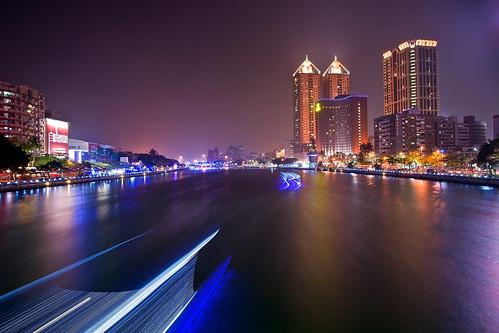 taiwan nightview 夜景 loveriver 愛河 高雄市 kaohsiungcity sonya850 sony2470za sony1635za