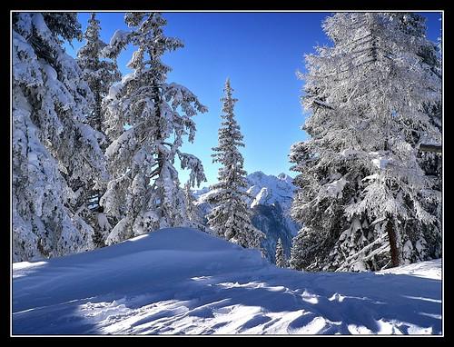 Winter, wie er sein muss. by Haldorfer