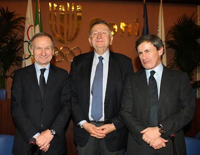 Petrucci, Dondi e Alemanno