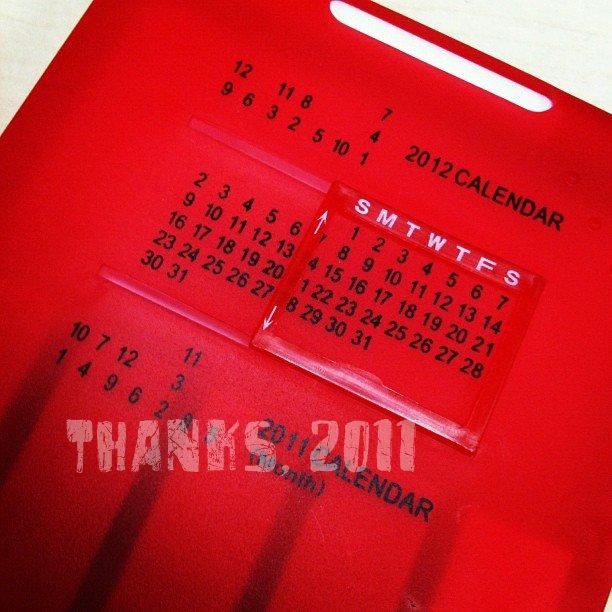 Thanks, 2011