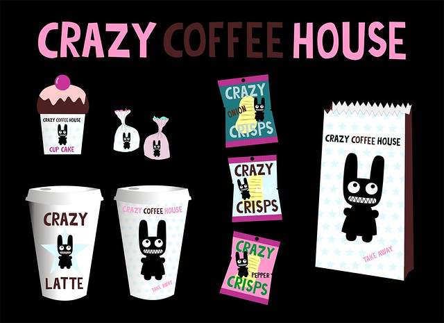 crazy coffeehouse