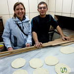Making Turkish Bread in Istanbul
