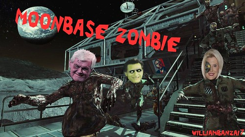 MOONBASE ZOMBIE by Colonel Flick