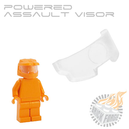 Powered Assault Visor - Trans Clear