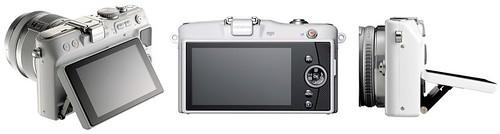 Olympus E-PL3 -- Tilting LCD