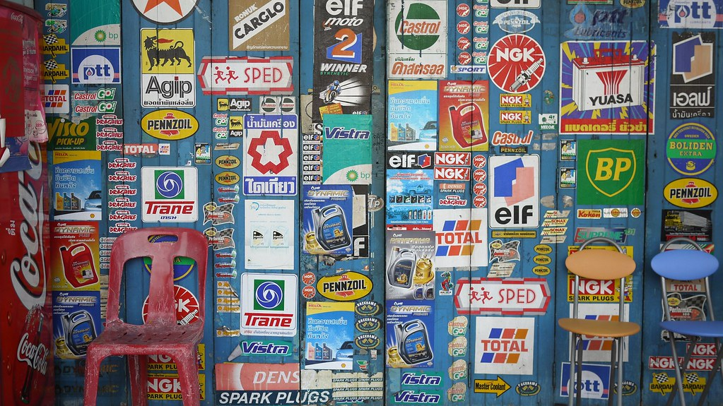 Wall of Automotive Brands