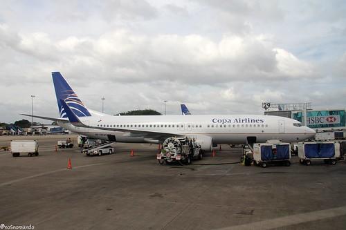 Voando Copa Airlines