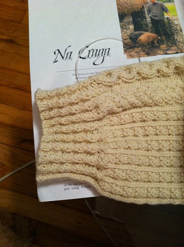 Cuff of left Na Craga sleeve by BlueDragon2