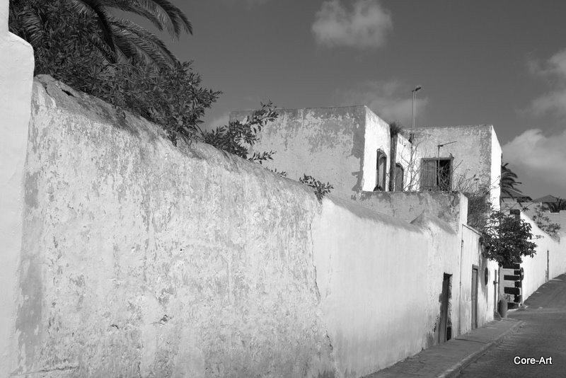 Lanzarote wall