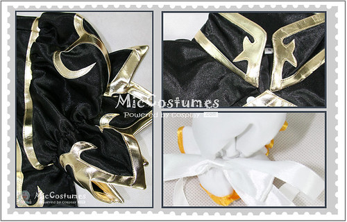 Street Fighter Chun Li Black Cosplay Costume_2