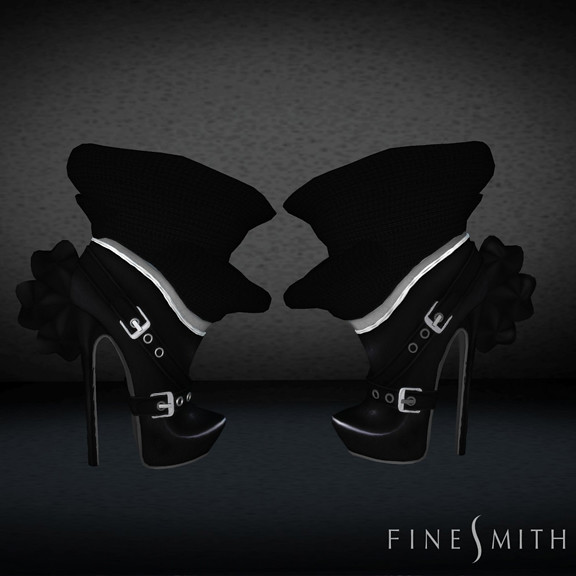 FINESMITH CANDYBIRD BOOTS black