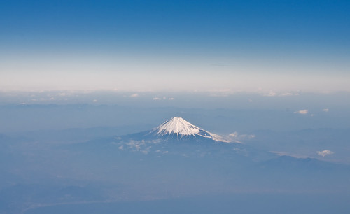 Mt.Fuji from the sky