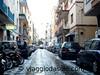 Neve e grandine in via Rubino, Formia