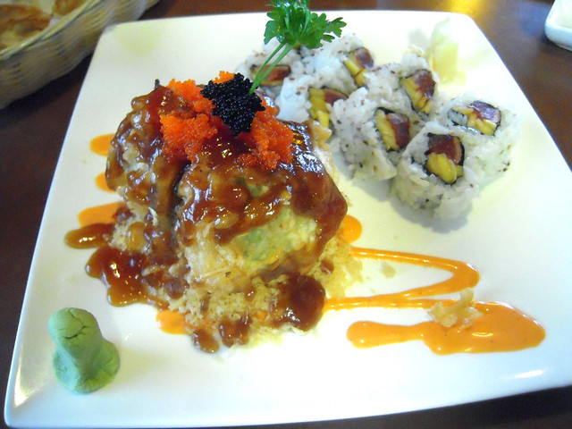 Monkey Brain Roll and Tuna & Mango Roll