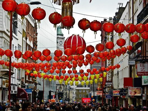 """ Chinatown, London, England, United Kingdom """