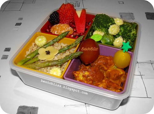 Tikka Massala Chicken Bento