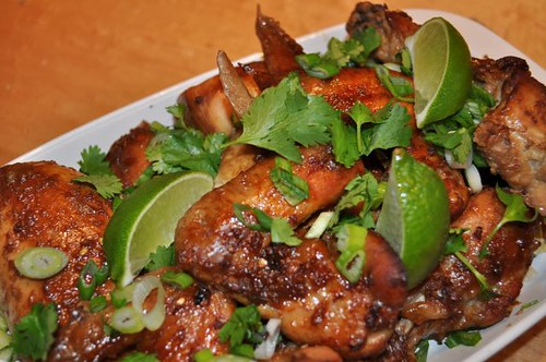 Thai citrus chicken/done