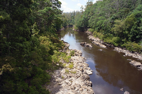 Arthur river, Kanunnah Bridge
