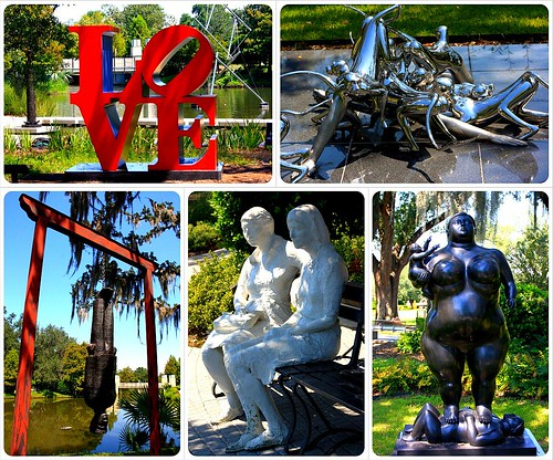new orleans sculpture garden