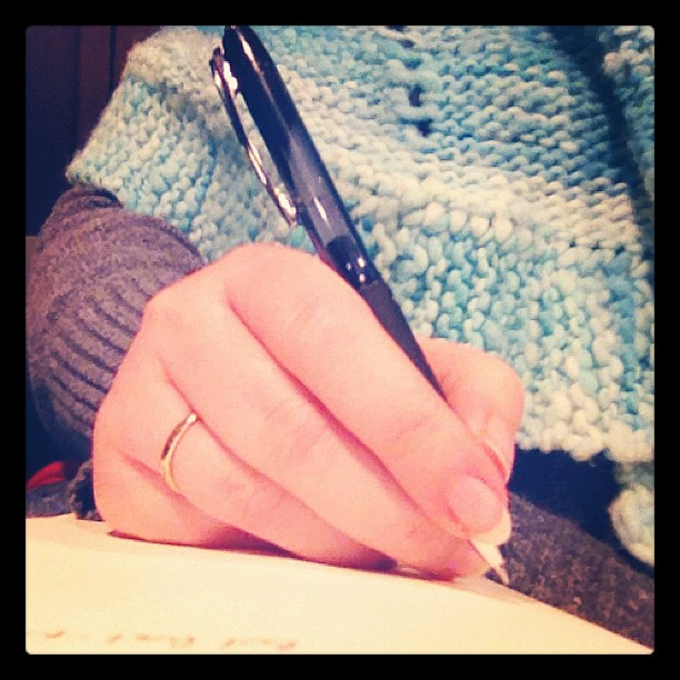 A different perspective of my hand #febphotoaday