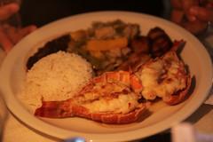 Last dinner in Trinidad