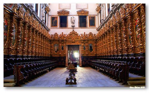 Cadeiral do mosteiro de Arouca by VRfoto