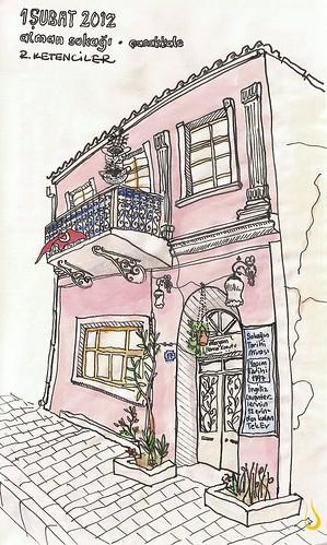 Meryem Hanım Evi, Alman Sokağı, Çanakkale