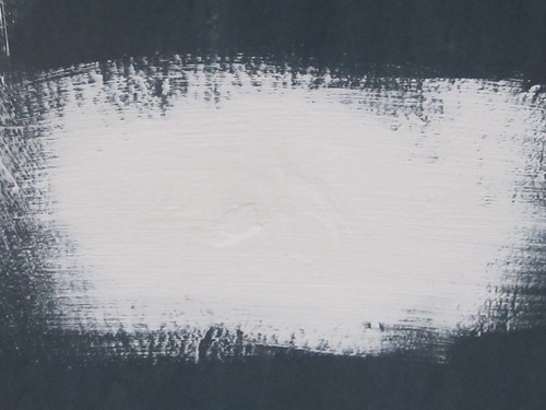 Grunge White Paint on Black