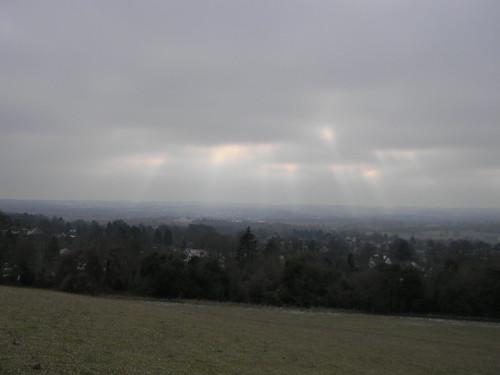 Sun over Otford