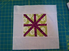 Block for quilting for kids project.
