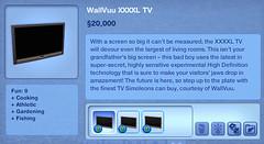 WallVuu XXXXL TV