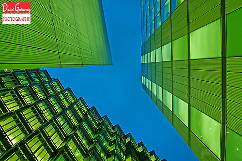 Architecture and Colors in London