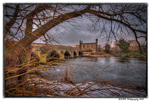 uk trees winter england snow water river yorkshire explore wakefield hdr efs1022mmf3545usm chantrybridge canon40d nhbphotography