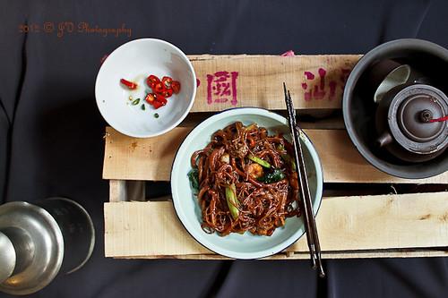 Chinese Fujian (Hokkien) Soy Noodles 福建麵