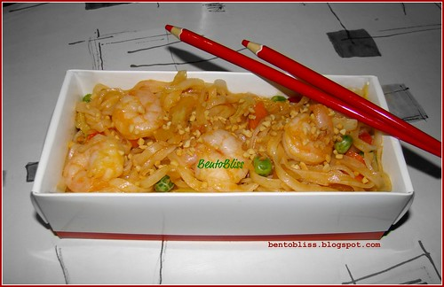 Shrimp Pad Thai Bento