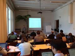 BHL-Europe meeting in Kaisaniemi Botanic Garden