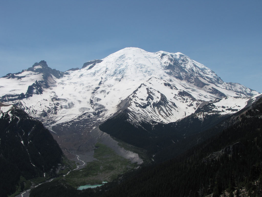 Guided Summit Climb and Course - Mount Rainier - Mountain ...