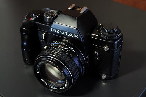 我夢想中的銘機-Pentax Lx