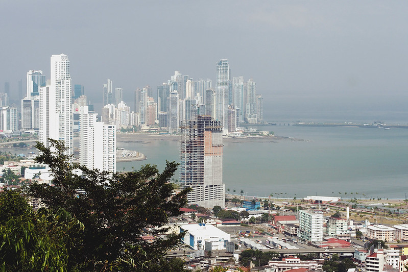 Panama: view