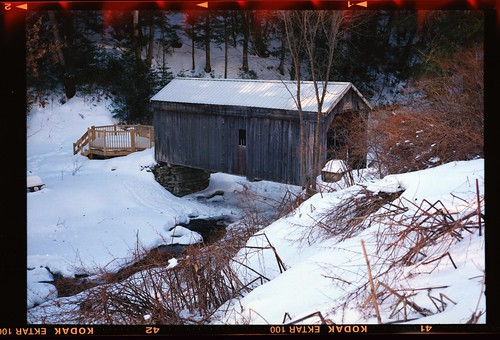 Copeland covered bridge, Edinburg, N.Y.